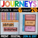 Journeys 4th Grade Lesson 26: Girl Who Loved Spiders Supplemental & Interactive