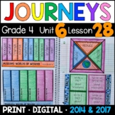 Journeys 4th Grade Lesson 28: Museums Worlds of Wonder Supplements & Interactive