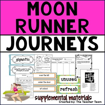 Moon Runner Journeys 4th Grade Unit 4 Lesson 18 Activities and Printables