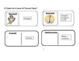 "Journeys 4th Grade Reading Series Vocabulary Dominoes ""Hercules' Quest"""