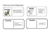 "Journeys 4th Grade Reading Series Vocabulary Dominoes ""Riding Freedom"""