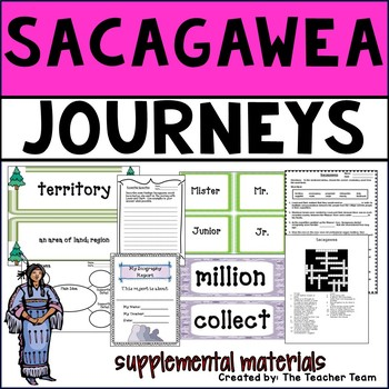 Sacagawea Journeys 4th Grade Unit 4 Lesson 20 Activities and Printables