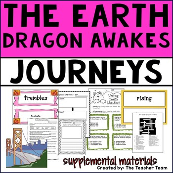 The Earth Dragon Awakes Journeys 4th Grade Unit 3 Lesson 12 Activities