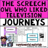 The Screech Owl Who Liked Television Journeys 4th Grade Unit 3 Lesson 11