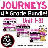 Journeys 4th Grade Unit 1-3 Half Year Supplemental Activities & Printables 2011