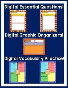 Journeys 4th Grade Unit 1 Bundle Supplemental Resources Google Drive Resource