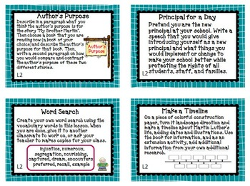 Journeys 4th Grade Unit 1 Task Cards for Centers and Small Groups  2011 version