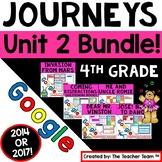 Journeys 4th Grade Unit 2 Bundle Supplemental Resources Google Drive Resource