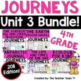 Journeys 4th Grade Unit 3 Printables Bundle | 2011
