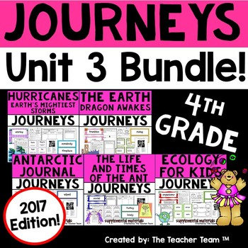 Journeys 2017 4th Grade Unit 3 Supplemental Materials