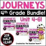 Journeys 4th Grade Unit 4 - Unit 6 Printables Bundle | 2011