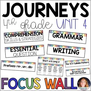 Journeys 4th Grade Unit 4 FOCUS WALL Supplement 2014/2017