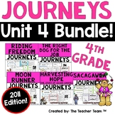Journeys 4th Grade Unit 4 Supplemental Activities  & Printables 2011