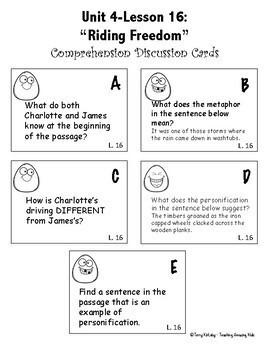 4th Grade Journeys - Unit 4:  Effective Supplemental Materials