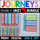 Journeys 4th Grade Unit 5 BUNDLE: Supplemental Materials with Interactive pages