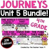 Journeys 4th Grade Unit 5 Printables Bundle | 2011