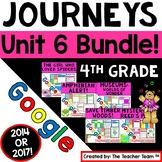 Journeys 4th Grade Unit 6 Bundle Supplemental Resources Google Drive Resource