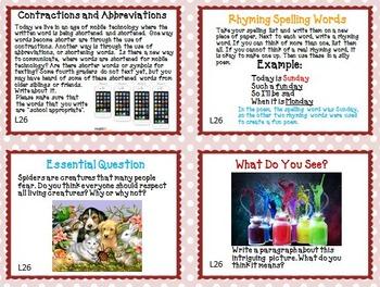 Journeys 4th Grade Unit 6 Task Cards Supplemental Materials 2011