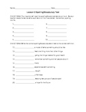 Journeys 4th Grade Vocabulary Test, Word List for My Broth