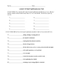 Journeys 4th Grade Vocabulary Test, Word List for Jose! Bo