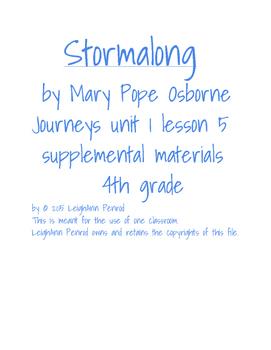 Journeys 4th grade unit 1 lesson 5