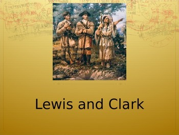 Journeys 5-25 Lewis and Clark Powerpoint
