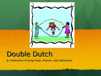 Journeys 5-4 Double Dutch Vocabulary PowerPoint