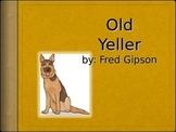 Journeys 5-7 Old Yeller Vocabulary Powerpoint