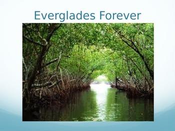 Journeys 5-8 Everglades Forever Vocabulary Powerpoint