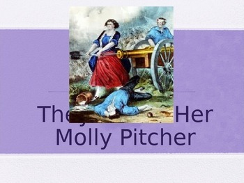 Journeys 5.13 Molly Pitcher