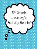 Journey's 5th Grade Activity Bundle (Units 1-5)