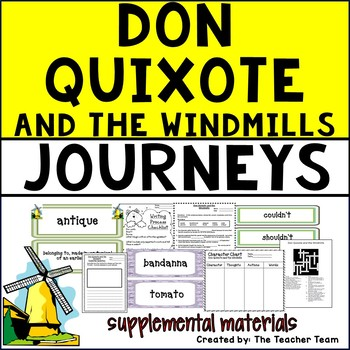Don Quixote and the Windmills Journeys 5th Grade Supplemen