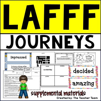 LAFFF Journeys 5th Grade Unit 4 Lesson 17 Activities and Printables