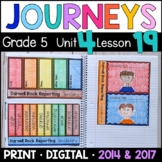 Journeys 5th Grade Lesson 19: Darnell Rock Reporting with GOOGLE Classroom