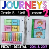 Journeys 5th Grade Lesson 2: A Royal Mystery (Supplemental & Interactive pages)