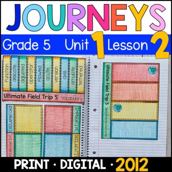 Journeys 5th Grade Lesson 2: Ultimate Field Trip 5 (Supplemental & Interactive)