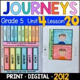 Journeys 5th Grade Lesson 20: Don Quixote & the Windmills with GOOGLE Classroom