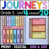 Journeys 5th Grade Lesson 20: Black Stallion Supplements with GOOGLE Classroom