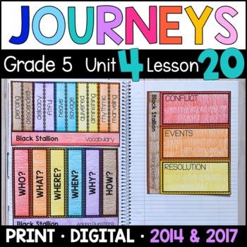 Journeys 5th Grade Lesson 20: Black Stallion (Supplemental