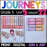 Journeys 5th Grade Lesson 22: Birchbark House (Supplemental & Interactive pages)