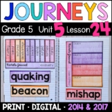 Journeys 5th Grade Lesson 24: Rachel's Journal Supplemental & Interactive pages