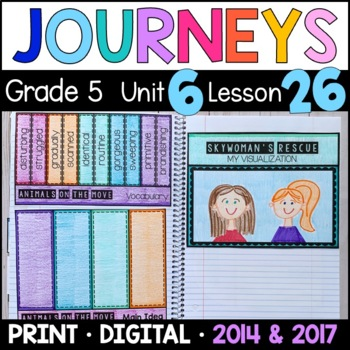 Journeys 5th Grade Lesson 26: Animals on the Move (with In