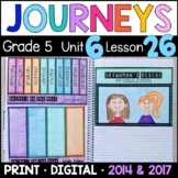 Journeys 5th Grade Lesson 26: Animals on Move Supplements with GOOGLE Classroom