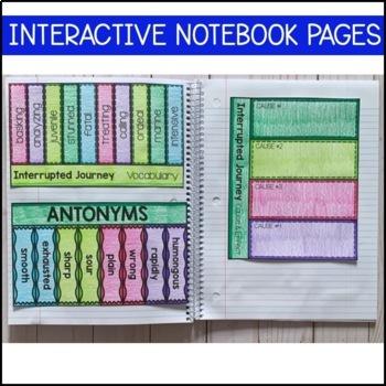 Journeys 5th Grade Lesson 6: Interrupted Journey (Supplemental & Interactive)