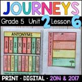 Journeys 5th Grade Lesson 6: Quest Tree Kangaroo Supplements w/GOOGLE Classroom