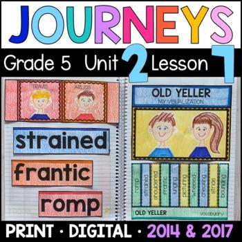 Journeys 5th Grade Lesson 7: Old Yeller (Supplemental & In