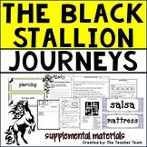 The Black Stallion | Journeys 5th Grade Unit 4 Lesson 20 Printables