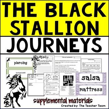 The Black Stallion Journeys 5th Grade Supplemental Materials