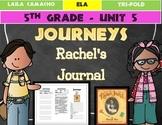 Journeys 5th Grade Trifold (Rachel's Journal)