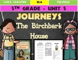 Journeys 5th Grade Trifold (The Birchbark House)